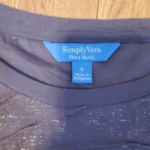 Simply Vera Vera Wang Tops - Set of 2 Simply Vera tshirts.  Size S